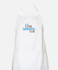 1st Time Grandpas Club (Blue) Apron