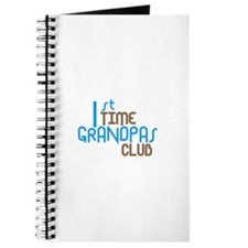 1st Time Grandpas Club (Blue) Journal