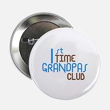 "1st Time Grandpas Club (Blue) 2.25"" Button (100 pa"