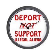 Deport Not Support Wall Clock