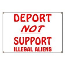 Deport Not Support Banner