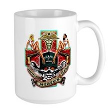 US Navy Corpsman Skull Mug