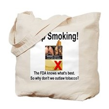 Stop Smoking Tote Bag