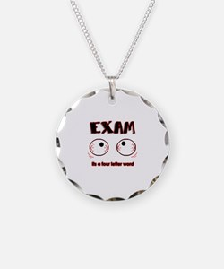 Exam: its a four letter word Necklace