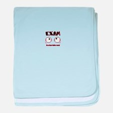 Exam: its a four letter word baby blanket