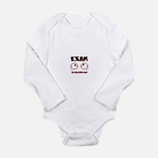 Exam: its a four letter word Long Sleeve Infant Bo