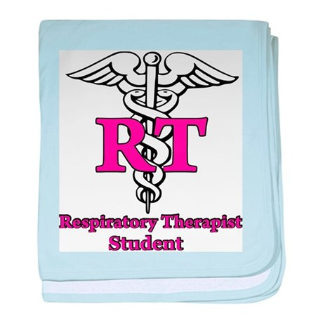 respiratory therapy student baby blanket by rtstudentg
