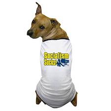 Socialism Sucks! Dog T-Shirt
