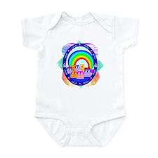 Rainbow Town Infant Creeper