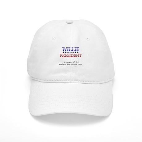 Willie For President Cap