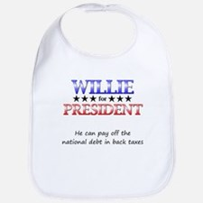 Willie For President Bib