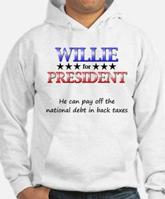 Willie For President Hoodie