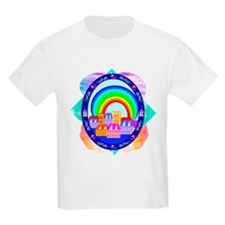 Rainbow Town Kids T-Shirt