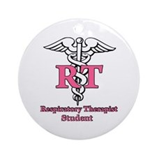 Cute Respiratory Ornament (Round)