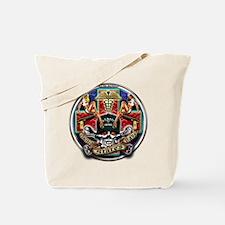 USN Navy Corpsman HM Skull Tote Bag