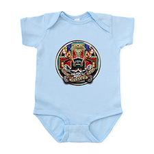 USN Navy Corpsman HM Skull Infant Bodysuit