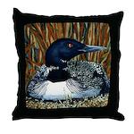 Minnesota Loon Pillow