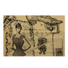 Steampunk Dreams Postcards (Package of 8)