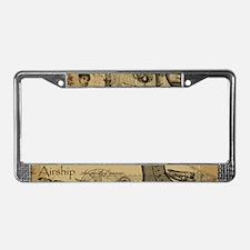 Steampunk Dreams License Plate Frame