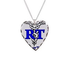 Respiratory Therapy Student Necklace Heart Charm