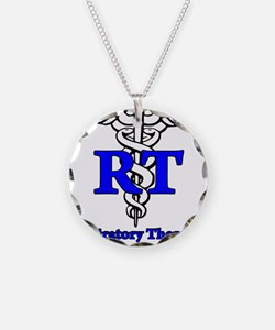 Respiratory Therapy Student Necklace Circle Charm