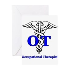 Cute Occupational therapy Greeting Card