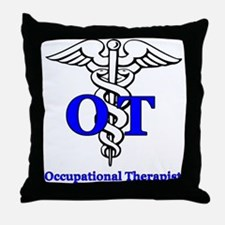 Funny Occupational therapist Throw Pillow