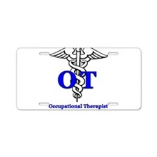 Cute Occupational therapy Aluminum License Plate