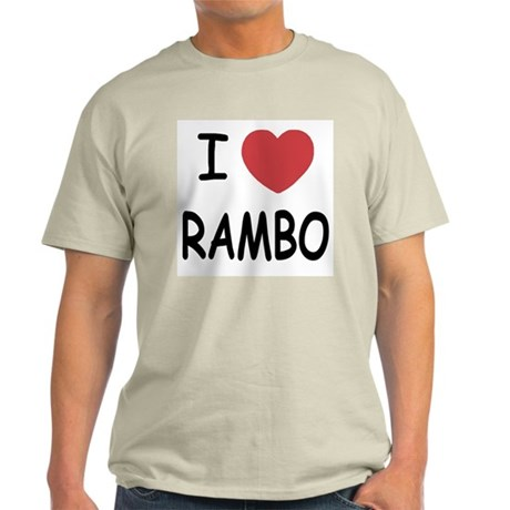 I heart rambo Light T-Shirt