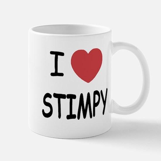 I heart stimpy Mug