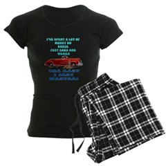 Booze,Cars and Women Pajamas