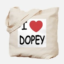 I heart dopey Tote Bag