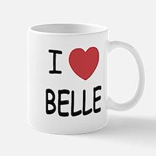 I heart belle Mug