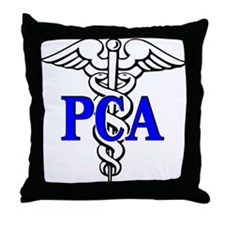 Personal Care Attendant Throw Pillow