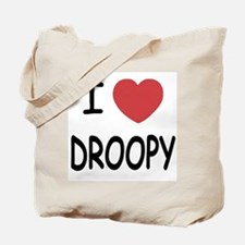 I heart droopy Tote Bag