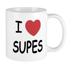 I heart supes Mug