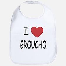 I heart groucho Bib