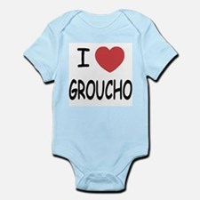 I heart groucho Infant Bodysuit