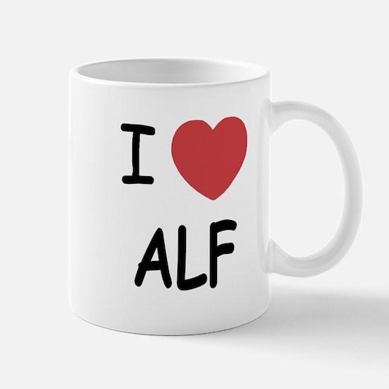 I heart alf Mug