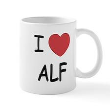 I heart alf Small Mug
