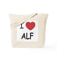 I heart alf Tote Bag