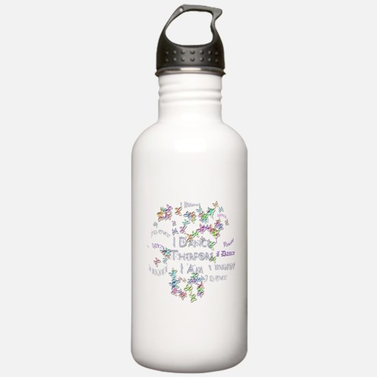 I Dance therefore I am Water Bottle