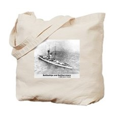Battleships and Battlecruiser Tote Bag