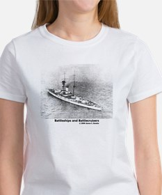 Battleships and Battlecruiser Women's T-Shirt