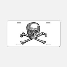 Masonic Skull Aluminum License Plate