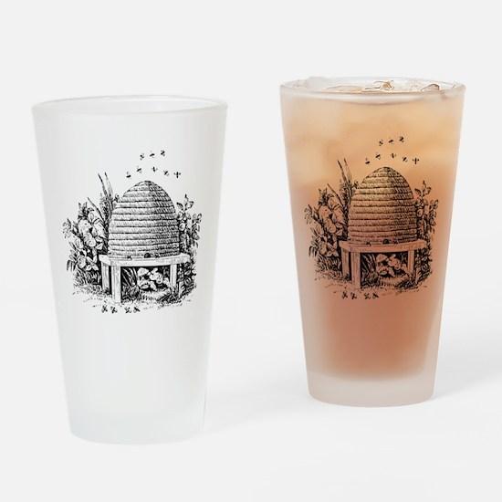 Masonic Beehive No. 2 Pint Glass