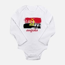 Angola Long Sleeve Infant Bodysuit