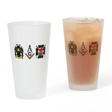 Multiple Masonic Bodies Drinking Glass