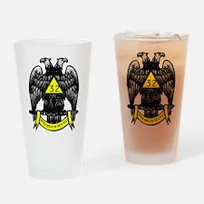 Scottish Rite 32nd Degree Pint Glass