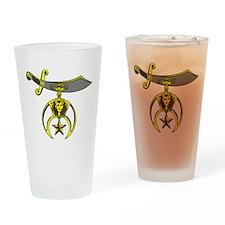 Shrine Semitar Drinking Glass